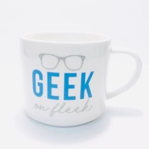 "NEW ROOM ESSENTIALS ""Geek On Fleek"" Coffee Mug"